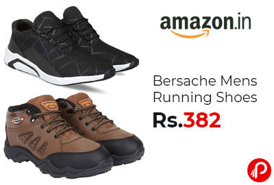 Bersache Mens Running Shoes @ 382 - Amaozn India
