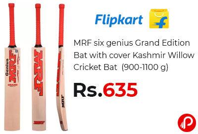 MRF six genius Grand Edition Bat @ 635 - Flipkart