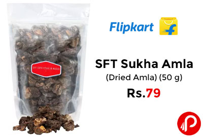 SFT Sukha Amla (Dried Amla) (50 g) @ 79 - Flipkart