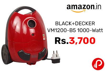 BLACK+DECKER VM1200-B5 1000-Watt @ 3,700 - Amazon India