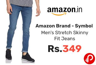 Symbol Men's Stretch Skinny Fit Jeans @ 349 - Amazon India