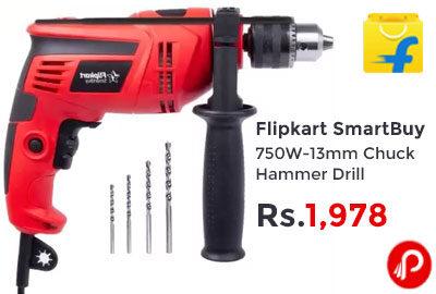 Flipkart SmartBuy 750W-13mm Chuck Hammer Drill @ 1,978 - Flipkart