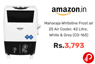 Maharaja Whiteline Frost air 25 Air Cooler @ 3793 - Amazon India
