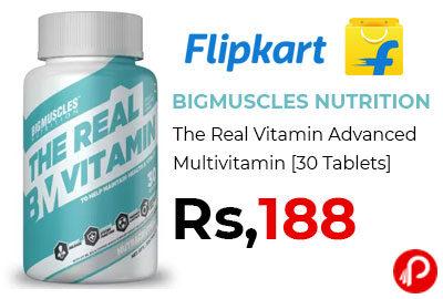 Vitamin Advanced Multivitamin 30 Tablets @ 188 - Flipkart