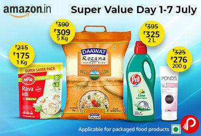 Super Value Days 1-7 July | UPTO 45% OFF - Amazon India