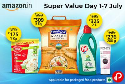 Super Value Days 1-7 July   UPTO 45% OFF - Amazon India