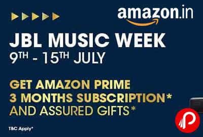 JBL MUSIC WEEK 9-15 JULY - Amazon India
