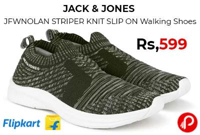 JACK & JONES Walking Shoes For Men @ 599 - Flipkart