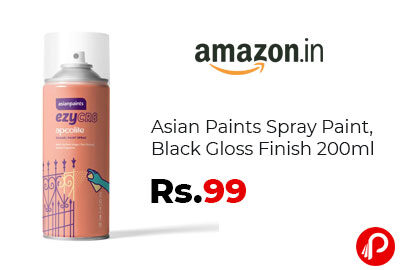 Asian Paints Spray Paint at 99 - Amazon India