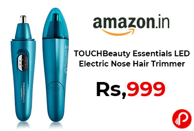 TOUCHBeauty Essentials LED Electric Nose Hair Trimmer @ 999 - Amazon India