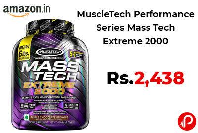 MuscleTech Performance Series Mass Tech Extreme 2000 @ 2438 - Amazon India