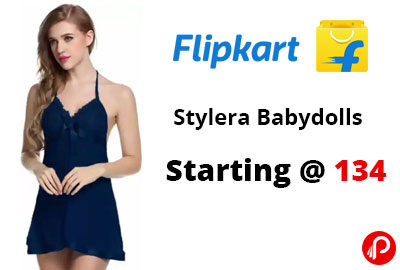 Stylera Babydolls Starting @ 134 - Flipkart