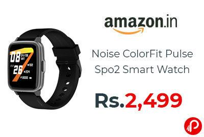 Noise ColorFit Pulse Spo2 Smart Watch @ 2,499 - Amazon India
