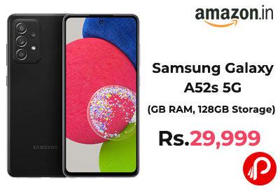 Samsung Galaxy A52s 5G @ 29,999 - Amazon India