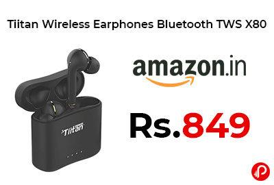 Tiitan Wireless Earphones Bluetooth @ 849 - Amazon India