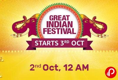Amazon India Great Indian Festival 2021 - Amazon