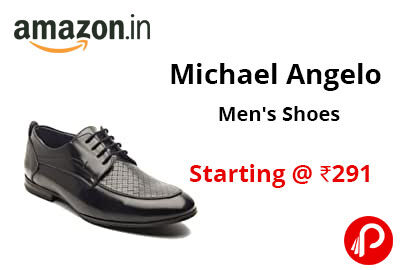 Michael Angelo Men's Shoes Starting @ 291 - Amazon India