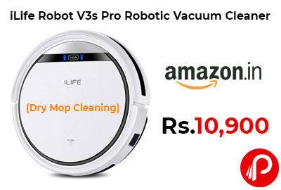 iLife Robot V3s Pro Robotic Vacuum Cleaner @ 10,990 - Amazon India
