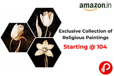 Exclusive Collection of Religious Paintings Starting @ 104 - Amazon India