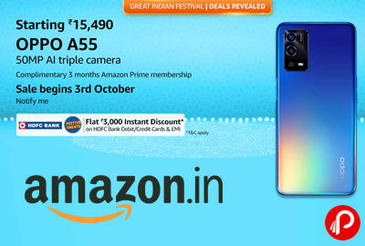 OPPO New Launch A Series @ 15490 - Amazon India