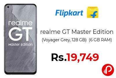 realme GT Master Edition (8 GB RAM, 128 GB) @ 19749 - Flipkart