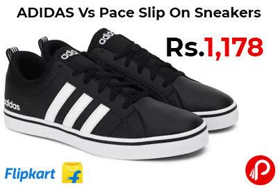 ADIDAS Vs Pace Slip On Sneakers @ 1,178 - Flipkart