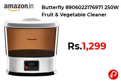 Butterfly 8906022176971 250W Fruit & Vegetable Cleaner @ 1,299 - Amazon India