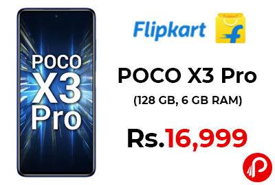POCO X3 Pro @ 16,999 - Flipkart