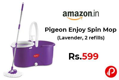 Pigeon Enjoy Spin Mop @ 599 - Amazon India