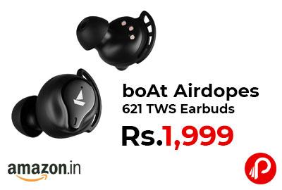 boAt Airdopes 621 TWS Earbuds @ 1,999 - Amazon India