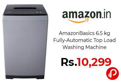 AmazonBasics 6.5 kg Fully-Automatic Top Load Washing Machine @ 10,299 - Amazon India