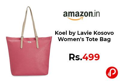 Koel by Lavie Kosovo Women's Tote Bag @ 499 - Amazon India