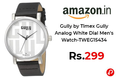 Gully by Timex Men's Watch @ 299 - Amazon India