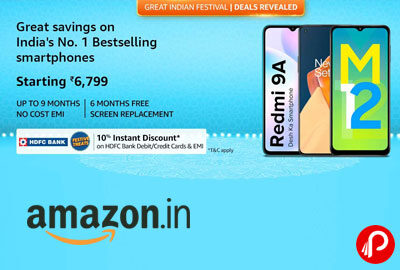 Great Indian Festival - Smartphones - Amazon India