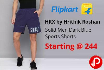 Hrx By Hrithik Roshan Men's Shorts Starting @ 244 - Flipkart