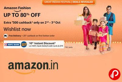 Great Indian festival - Fashion Teaser - Amazon India