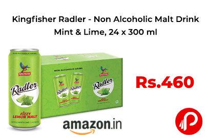 Kingfisher Radler 24 x 300 ml @ 460 - Amazon India