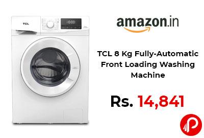 TCL 8 Kg Fully-Automatic Front Loading Washing Machine @ 14,841 - Amazon India